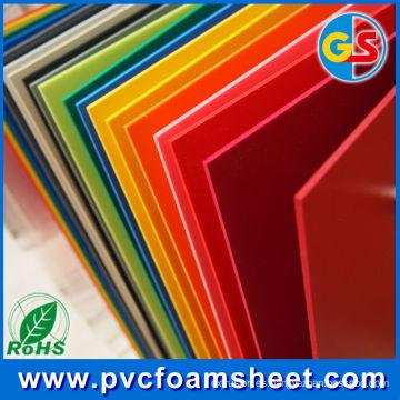 Fabricante de la lámina de la corteza del PVC Celuka