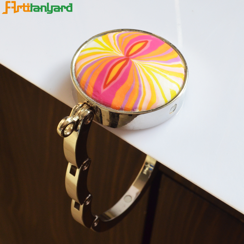 Round Shape Metal Bag Hanger
