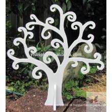 MDF-Holz Weihnachtsbaum in weißer Farbe mit PU-Farbe