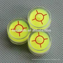 20 x 14mm mini burbujas circulares de nivel de burbuja