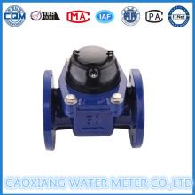 Medidor de agua de riego de conexión de bridas