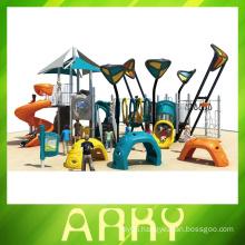New Design Outdoor Playground Kindergarten Exterior Play Land Equipment