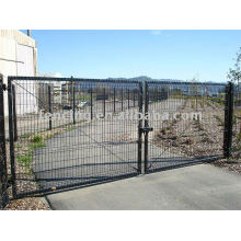 PVC coated gate(factory)
