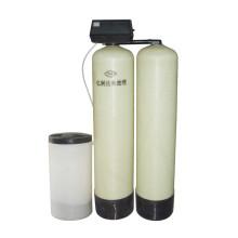 Un travail une réserve un double réservoir alternatif adoucisseur d'eau de travail