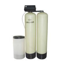 Válvula de controle e amaciador de água de tanque duplo de regeneração