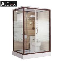 Aokeliya Modern All In One Bath Unit WC Shower Prefab Modular Bathroom Pod All In One