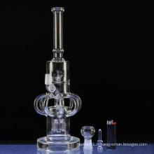 Pipes de fumée sans fumée de 8 bras Recycler Hookah (ES-GB-302)