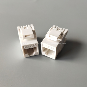 Conector Keystone MIG UTP CAT6A RJ45 de alta densidad