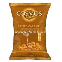 Saco plástico da embalagem do milho do caramelo / saco plástico do alimento