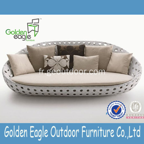 Round Shape High Quality SGS Rattan Proof Furniture