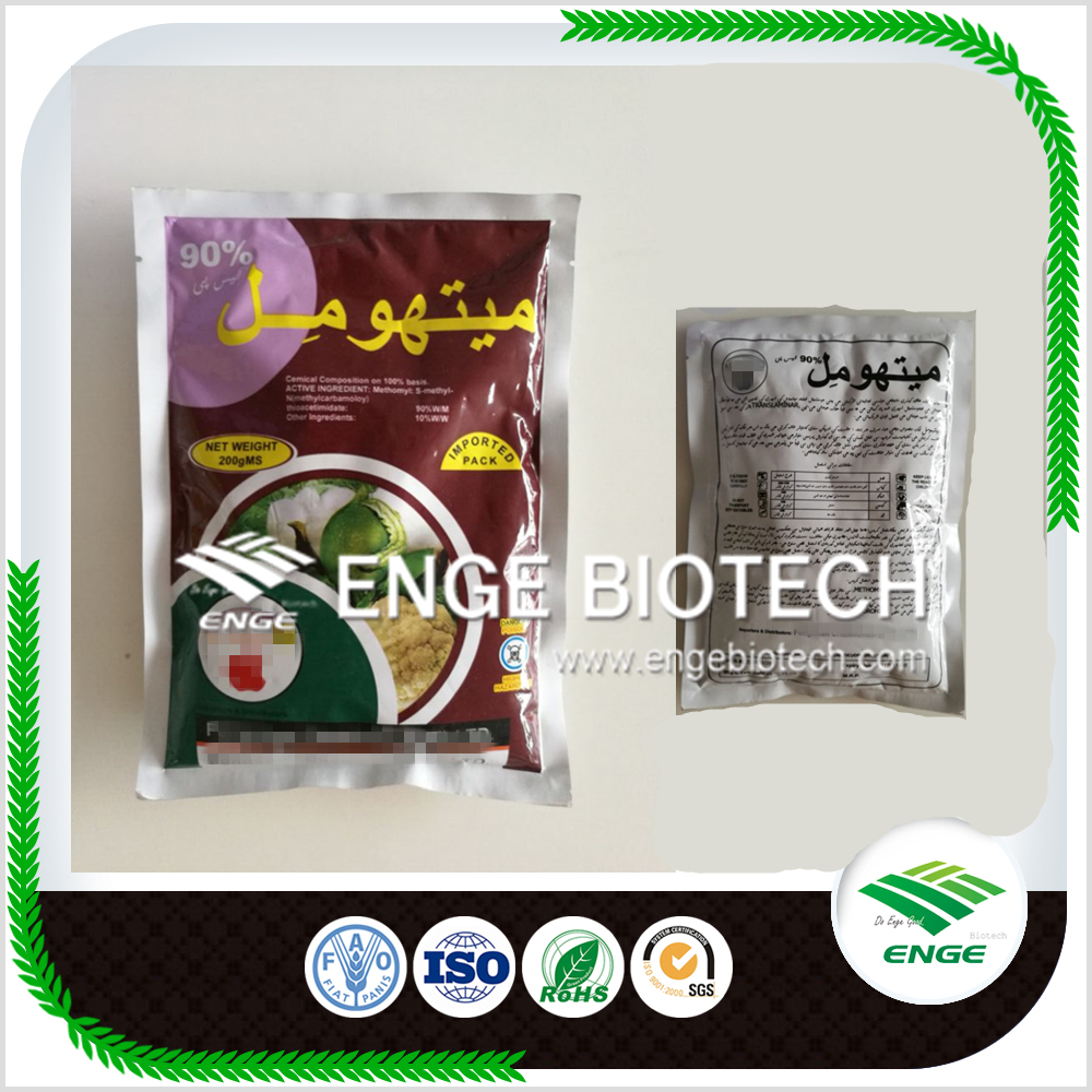 مبيدات الآفات مبيدات الحشرات Methomyl 90٪ SP