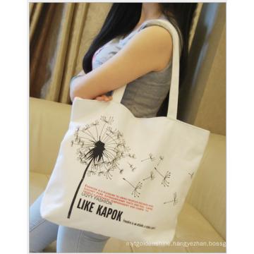 2017 new design canvas tote bag,promotional cotton bag,cotton canvas bag