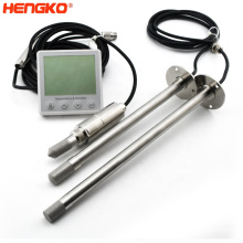 digital humidity and temperature sensor probe rht21 35  for air handling units, data centers, test chambers