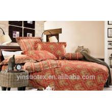 Bedding set 3d cotton,satin bedding set,7piece bedding set