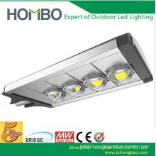 Luz de calle brillante estupenda del LED 5 años de garantía 160W ~ 180W poder más elevado Bridgelux llevó la lámpara llevada al aire libre de la viruta