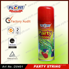 Partei-Spaß-bunte handliche Spray-Schnur