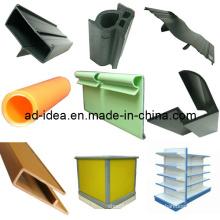 PVC Extruder, Rigid Plastic Profile RoHS Extruded PVC Profile