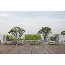 Outdoor-Wicker Sektionaltore Stoff Antik Sofa Set Designs