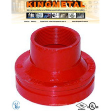 FM/UL Fire System Used Victaulic Concentric Grooved Reducer.