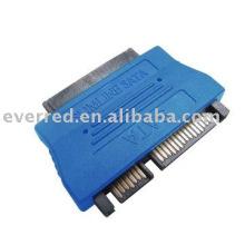 Adaptador SATA22P a SATA13P para DVD Slimline (ERS031-032)