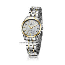 2016 Stainless Steel Sapphire Mirror Watches Couple Wrist Watch