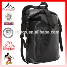 Stylish Waterproof Tarpaulin Travel Backpack Dry Bag for Hiking