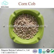 mazorca de maíz triturado para pulir maíz a granel de diferentes tamaños
