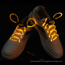 iluminação flash led brilho cadarços