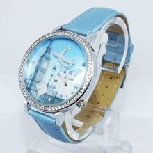 Montre-bracelet imperméable promotionnelle de luxe de 3ATM (HAL-1230)