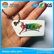 Etiqueta NFC PVC personalizado con chip Ntag203