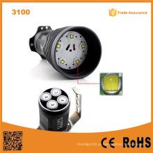 Super poder 5000 lumen 5pcs xml-t6 levou lanterna luz do flash