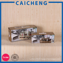 Custom made cardboard corrugated paper box manufacturer for shipping