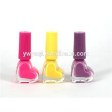 Yiwu usine d'alimentation 2015 vente chaude amour cœur organique vernis à ongles pour dame