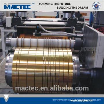 Nouveau type haute qualité aluminium bobine prix de la machine de refendage