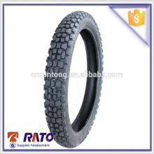 Pneu de moto promocional de boa qualidade 3.00-18 Tire Casing Type pneu de moto tubeless