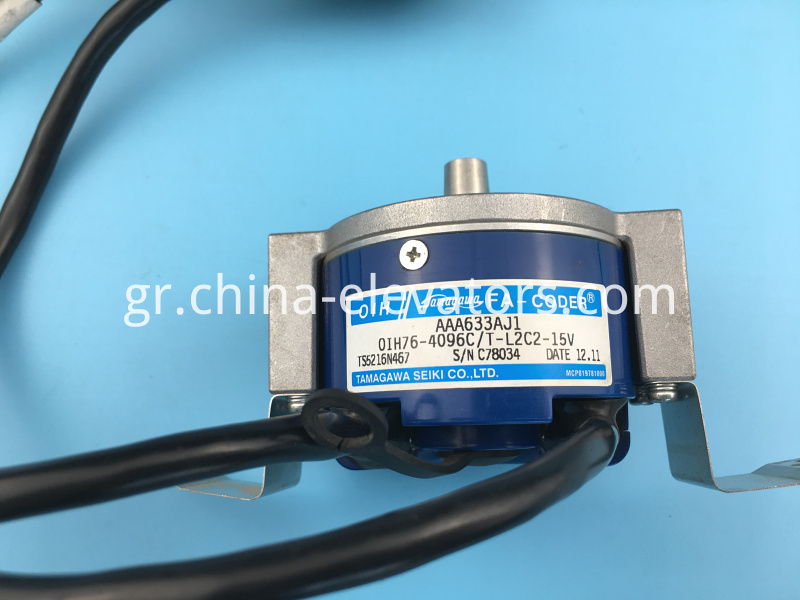 Rotary Encoder for OTIS MRL Elevators OIH76-4096C/T-L2C2-15V