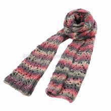 Fashion Crochet Handed Knitted Scarf (GMK20-14)
