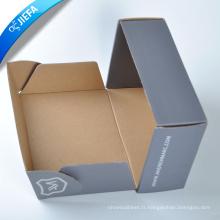 Boîte de papier de chaussure en carton imprimé personnalisé