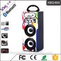 BBQ KBQ-604 Karaoke-System 1200mAh beste Bluetooth-Lautsprecher im Freien drahtlose Audio-Holzkiste mit FM Radio USB