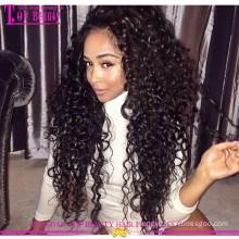 Циндао горячая продажа Виргинские волос кружева передние парики 100% бразильского Виргинские человеческих волос передние парики шнурка для черная женщина