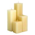 Quadratische Kerze der Religionssäule Kerze