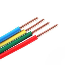 PVC Insulated Wire Home Use 1.0/1.5/2.5/4.0 Sq/Mm Single Core Flexible Copper Wires And Cables For Industrial Electric Coil Wire