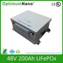 Cylindrical Battery 48V 200ah Li-ion Battery Pack