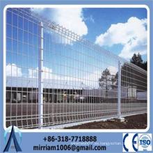 1800 * 2400mm ornamental bucle doble cerca de alambre de malla