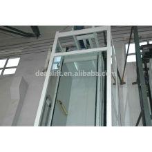 Машинный лифтовый лифт с безопасным стеклом