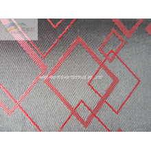 Embroidered Black Polyester Fabric