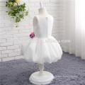 Kids Girls Toddler Baby Princess Dress Bow Flower Party Tutu Sleeveless Dresses
