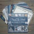 """Дизайн путешествия печать DIY 12 X 12 """"Scrapbook Paper Pack"""
