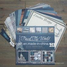 """Viagem Design Impressão DIY 12 X 12 """"Scrapbook Paper Pack"""