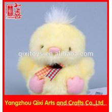 Mini soft stuffed and plush chicken yellow easter chick wholesale